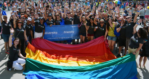 "United Employees Show That ""Diversity Flies with Us"" at LGBT Pride Month Festivities"