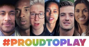 #ProudToPlay Celebrating equality for all athletes