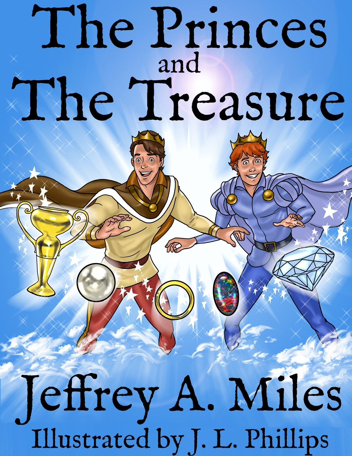 The Princes and The Treasure COVER