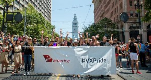 Virgin America SF Pride