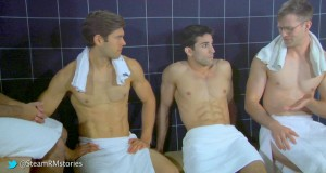 Steam Room Stories – Hot guys are insecure!‏