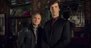'Sherlock' returns to BBC One