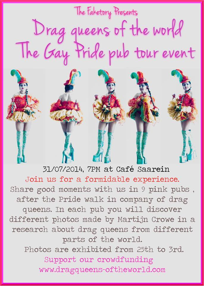 THE GAY PRIDE TOUR EVENT