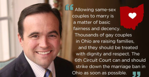 Cincinnati Mayor Urges 6th Circuit to Strike Down Marriage Ban