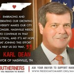 Nashville Mayor Karl Dean Announces Support of the Freedom to Marry