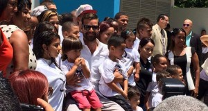 The Ricky Martin Foundation inaugurated the Tau Center in Las Cuevas community in Loiza, Puerto Rico