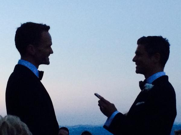 Neil Patrick Harris Marries David Burtka in Italy
