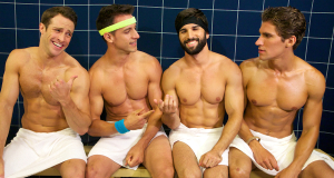 Workout wars breakout in Steam Room Stories