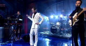 Perfume Genius performs 'Queen' on 'The Late Show With David Letterman'