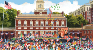 50th Anniversary Celebration of the LGBT Civil Rights Movement at Independence Hall, July 4, 2015