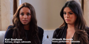 GLAAD Newsroom launches guest post series with actor Kat Graham and trans advocate Alissah Brooks