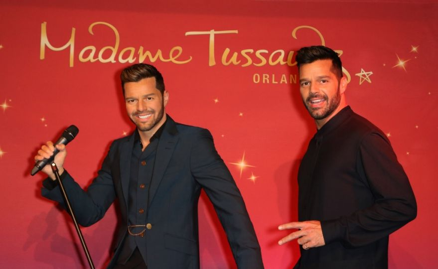 Ricky Martin immortalized in the Madame Tussaud Museum