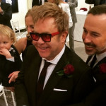 Sir Elton John and David Furnish have officially married