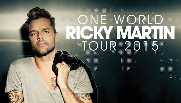 Ricky Martin Announces North American Dates for One World Tour