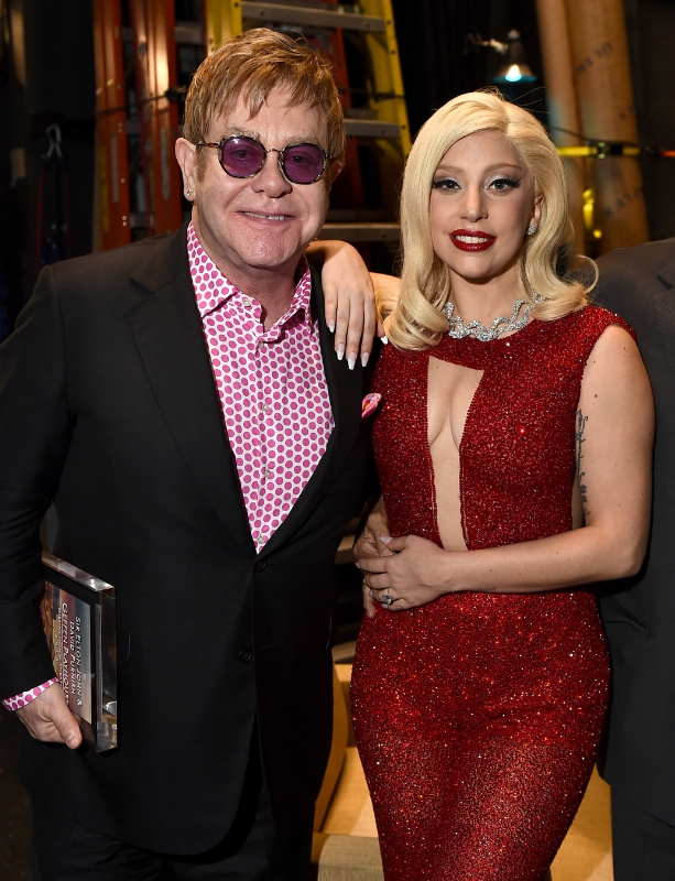 Geffen Playhouse Backstage elton john lady gaga