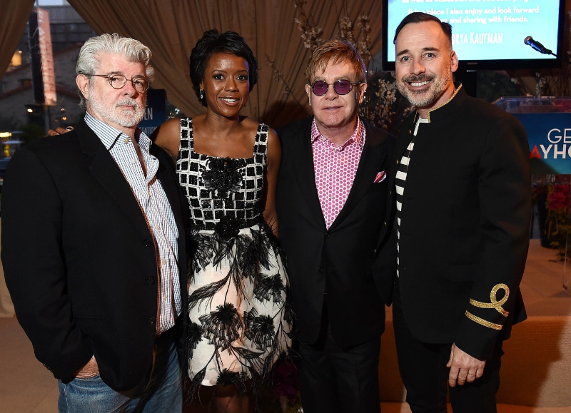 Geffen Playhouse george lucas mellody hobson elton john david furnish
