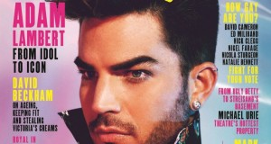 Adam Lambert covers Attitude Magazine‏