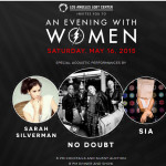 No Doubt, Sia And Sarah Silverman To Perform At An Evening With Women