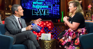 "Kelly Clarkson appears as guest on ""Watch What Happens Live""‏"