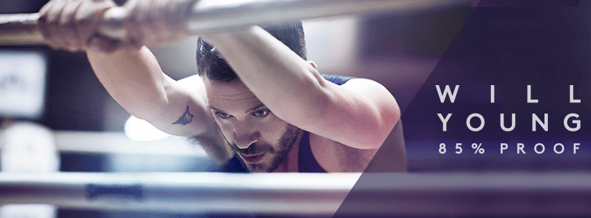 Will Young cd banner
