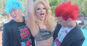 Willam Belli Stars in 'Boys Just Wanna Have Fun' music video‏ (1)