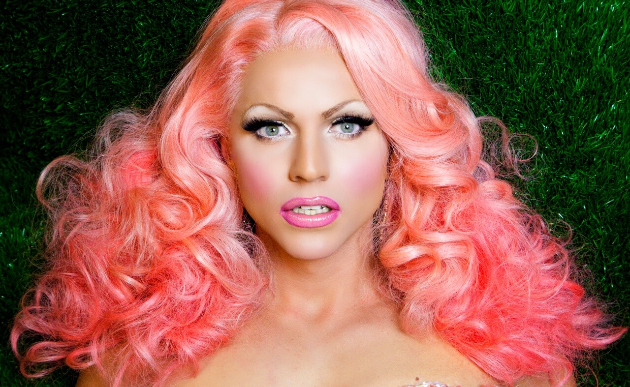 Courtney-Act-Pink-on-the-Green-by-Magnus-Hastings