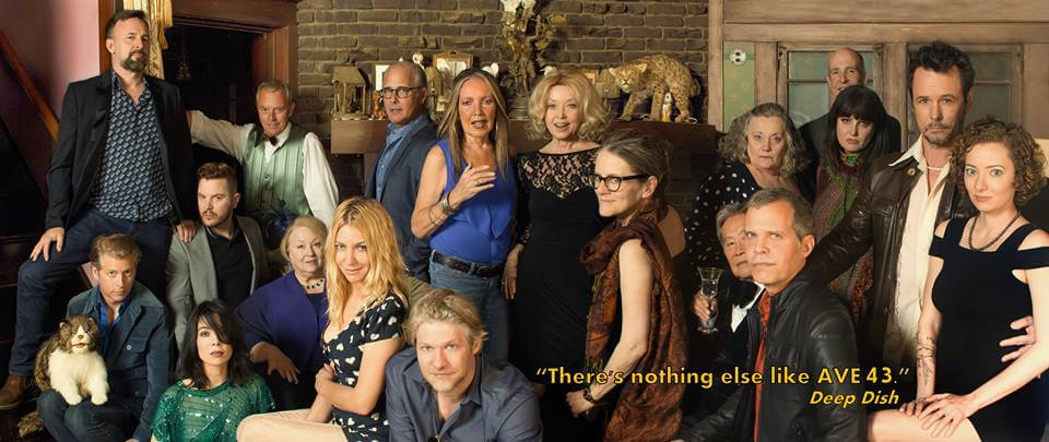 The cast of AVE 43