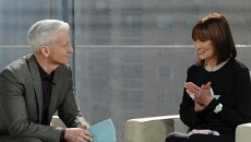 Anderson Cooper interviewed his mom Gloria Vanderbilt on his daytime show. Kathy Griffin also participated...