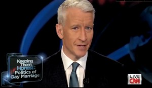 Anderson Cooper Calls Out Obama On Gay Marriage Flip-Flop