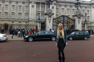 Andrej Pejic Met The Queen Wearing A Versace Skirt