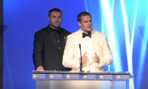 Ben Cohen And Hudson Taylor At The 2011 Human Rights Campaign National Dinner