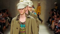 Burberry Prorsum Men's Spring/Summer 2012 Collection has a 60s retro influence; old ideas mixed with...