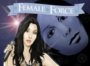 "Bluewater Productions Releases ""Cher"" Comic Book"