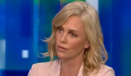 ... Charlize Theron talked to Piers Morgan about why she believes in