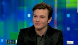'Glee's' Chris Colfer On Meeting Anti-Gay Republican Politicians