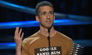 Dan Savage Wins Webby Special Achievement Award