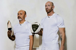 Gay Rugby Star Gareth Thomas And Christian Louboutin Bromance