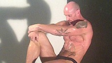 Openly gay rugby player Gareth Thomas tweeted out this image and said it was from...