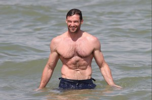 Drool Over Hugh Jackman Shirtless Beefcake Images
