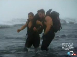 Jake Gyllenhaal And Bear Grylls Shirtless In Men vs Wild