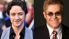 James McAvoy is rumored to be the front-runner to portray sir Elton John in the...