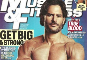 Sexy Hunk Joe Manganiello Covers Muscle & Fitness Magazine