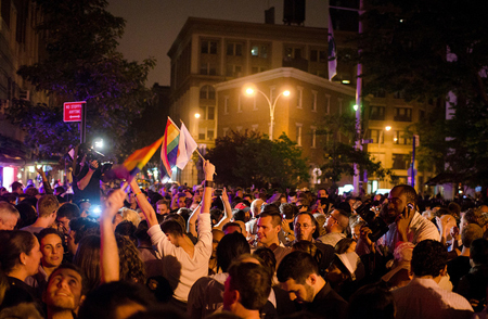 NY gay marriage celebration