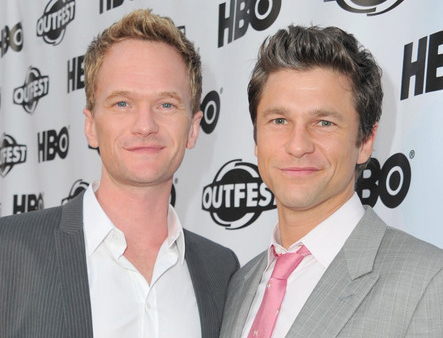 Neil Patrick Harris David Burtka front