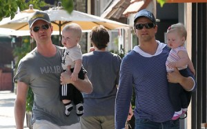 Adorable Family Portrait: Neil Patrick Harris David Burtka & The Twins