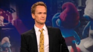 Neil Patrick Harris Talks About Smurf Sex On The Daily Show With Jon Stewart