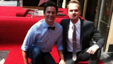 Openly gay actor Neil Patrick Harris has been honored with a star on the Hollywood...