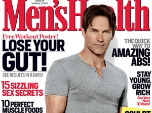 Stephen Moyer Covers 'Men's Health Magazine'