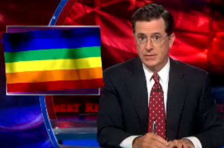 Stephen Colbert On Gay History California's school curriculum includes ...
