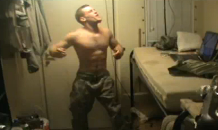 U.S soldiers britney spears video